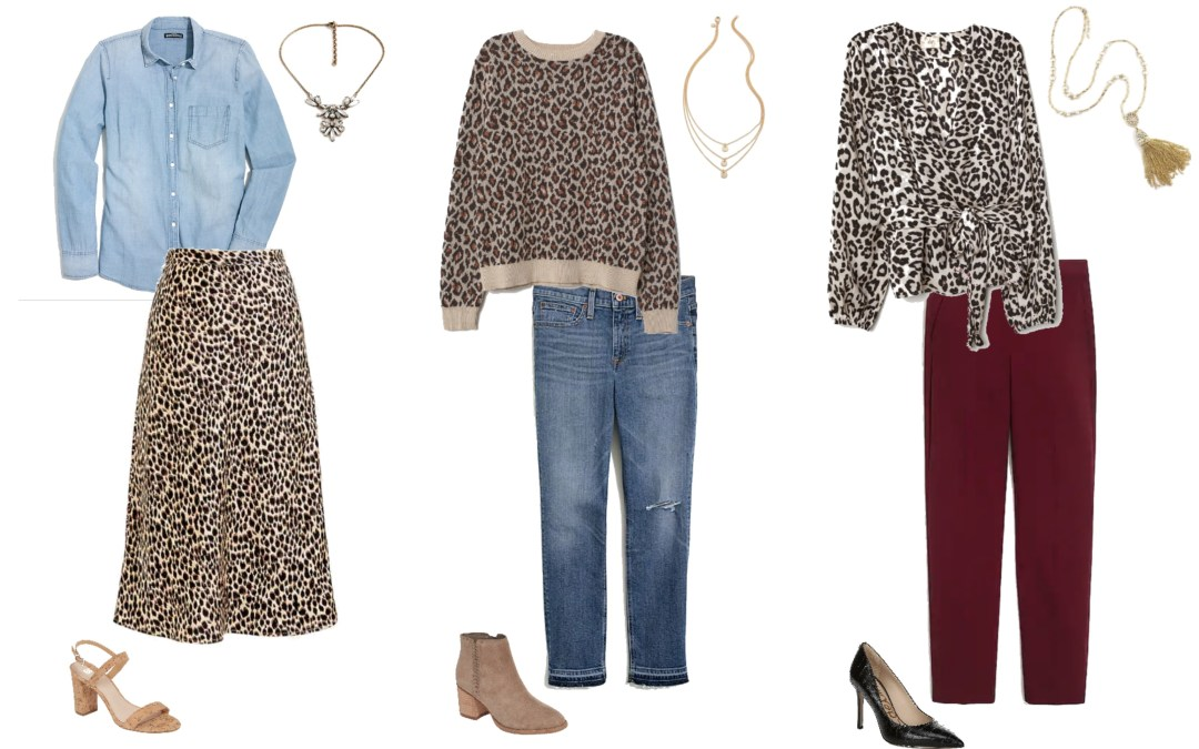 Five Ways to Wear Leopard Pieces