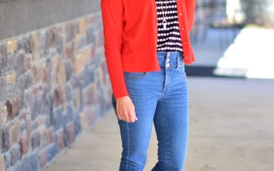 High Waist Jeans and a Little Spring Fever