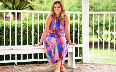 Madras Plaid in Pink and Blue