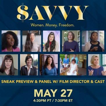 Savvy Documentary Screening