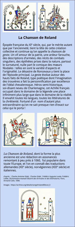 La Chanson De Roland Analyse : chanson, roland, analyse, Chanson, Roland:, Analyse, Française