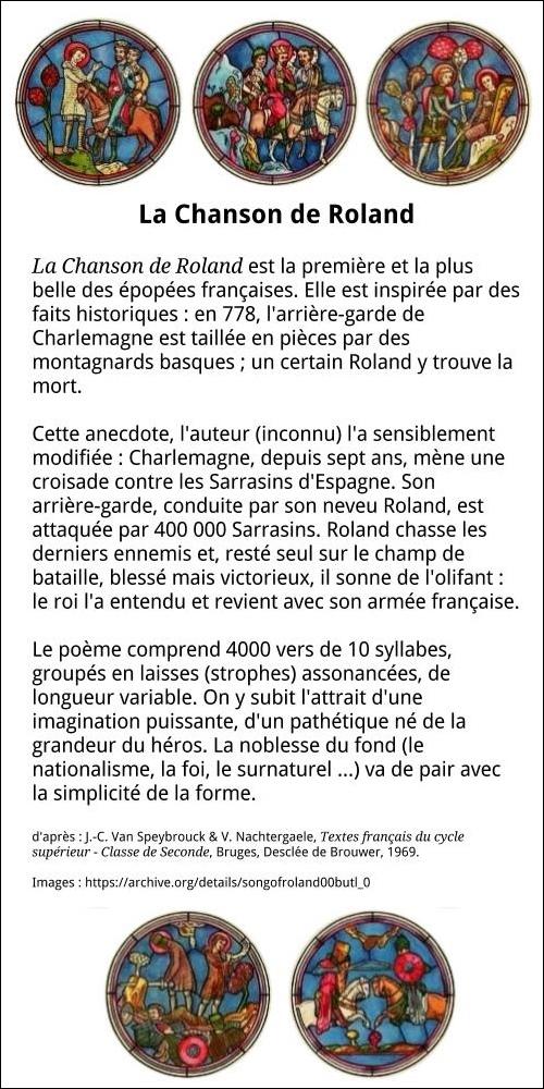 La Chanson de Roland - MR FRANCAIS