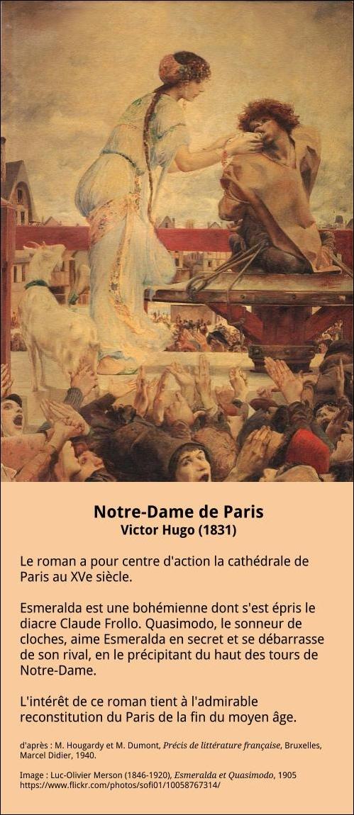 Victor Hugo Notre Dame De Paris Extrait : victor, notre, paris, extrait, Notre-Dame, Paris, (1831), Française