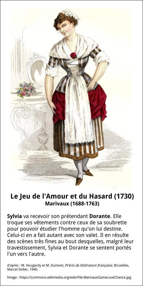 Jeu De L'amour Et Du Hasard : l'amour, hasard, L'Amour, Hasard, Française