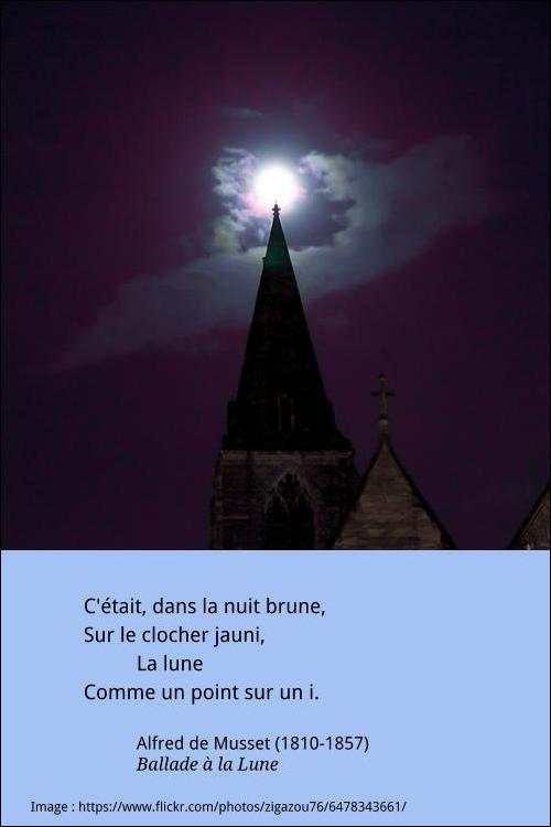 La Lune Comme Un Point Sur Un I : comme, point, Française