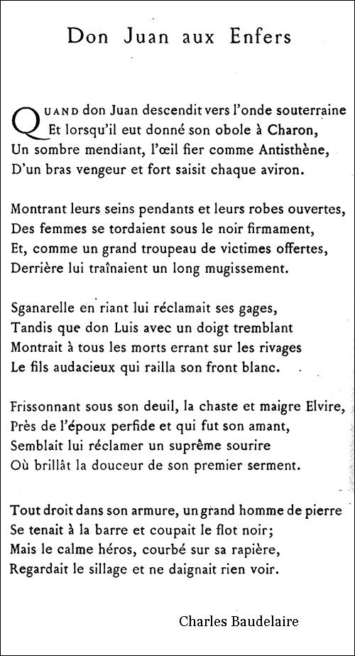 Don Juan aux Enfers