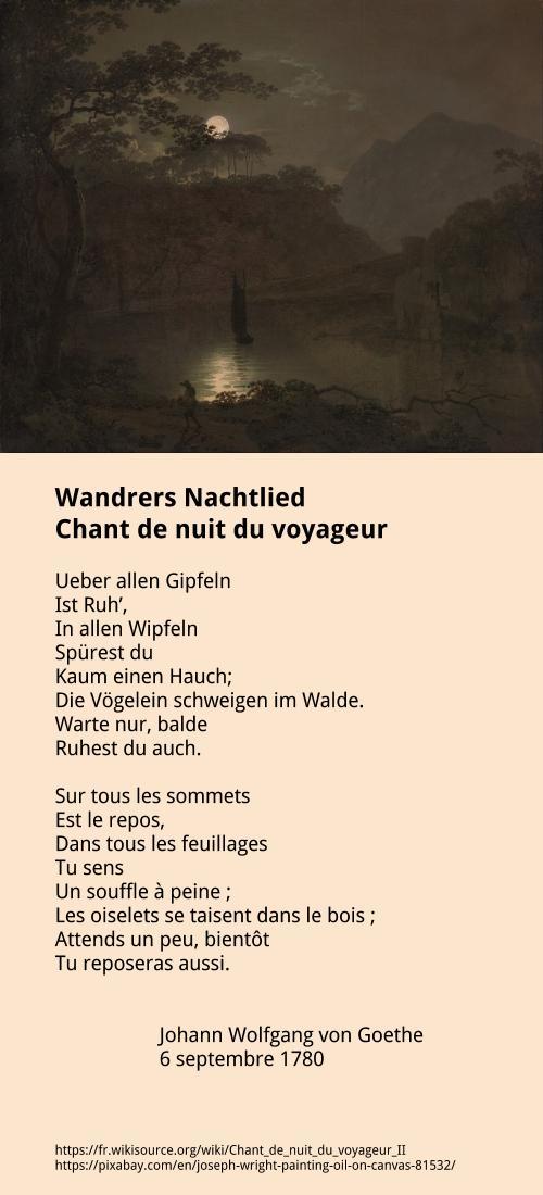 Chant de nuit du voyageur
