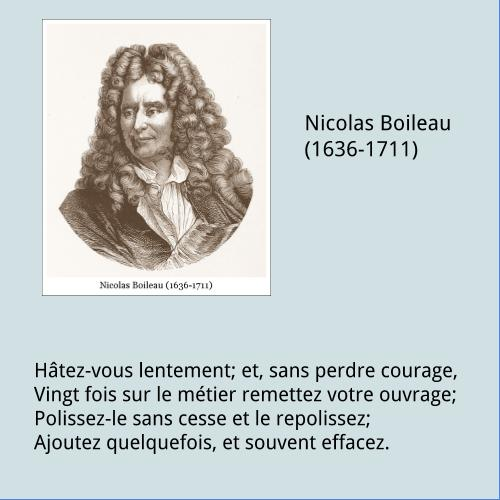 Boileau – Citation