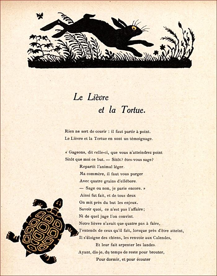Le Livre Et La Tortue : livre, tortue, Lièvre, Tortue, Française