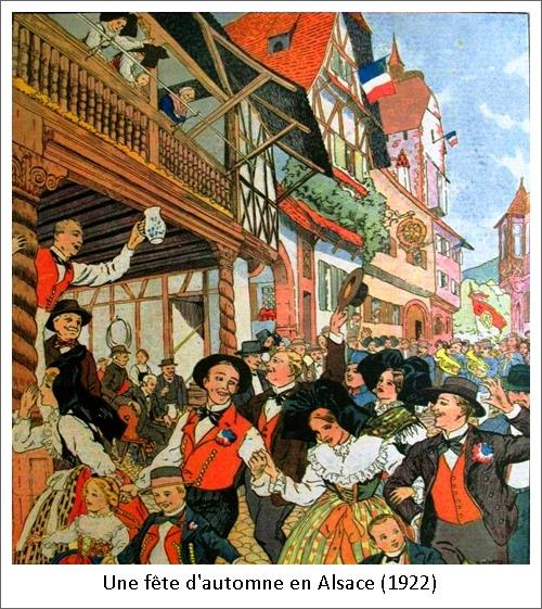 Une fête d'automne en Alsace (1922)
