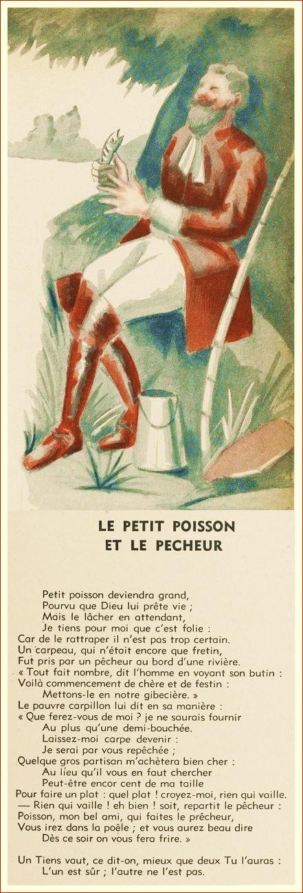 Le Petit Poisson Et Le Pecheur : petit, poisson, pecheur, Petit, Poisson, Pêcheur, Française