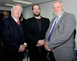 René Focke, Germán Fromm y Ricardo Gevert