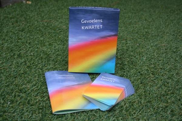 Inhoud GevoelensKWARTET kaartspel