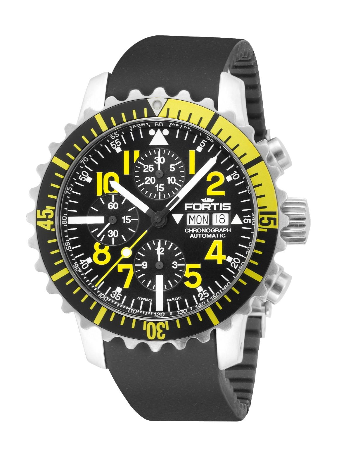 Fortis Mens 6712414 K B42 Marinemaster Chronograph