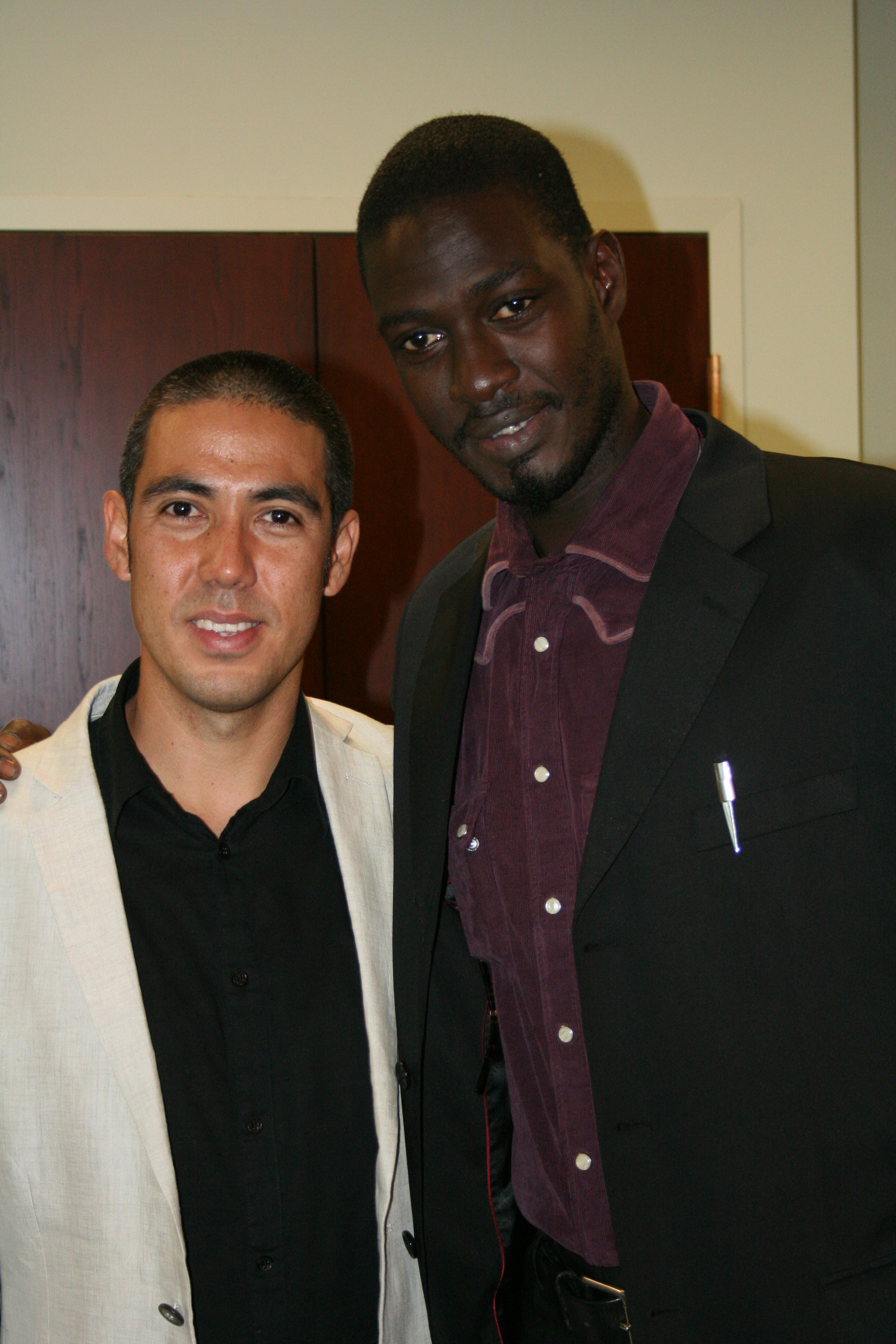Kapono Ciotti and Moustapha Faye.