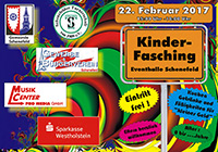 Kinderfasching am 22.2.2017