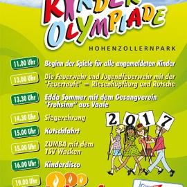 X. Kinderolympiade und Lichterfest 2017