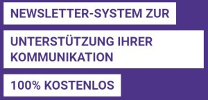 Newsletter-System zur Unterstützung Ihrer Kommunikation