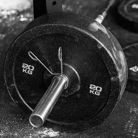 FOSS Olympische bumperplate 25 kg