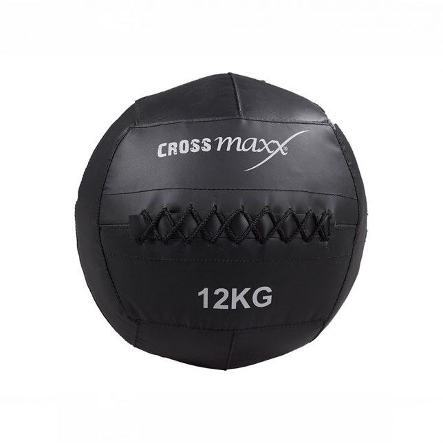 Crossmaxx® wall ball 12 kg - donkergrijs