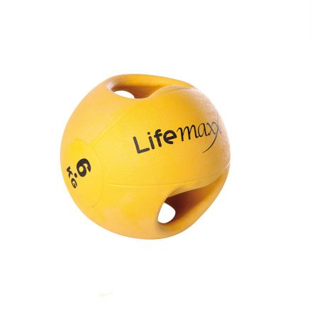 Double handle medicine ball 6 kg