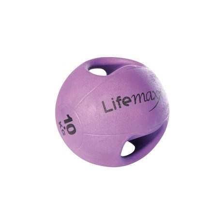 Double handle medicine ball 10 kg