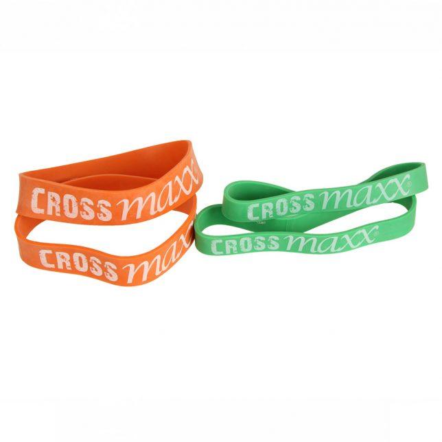 Crossmaxx® mini resistance band - 4 stuks (heavy)
