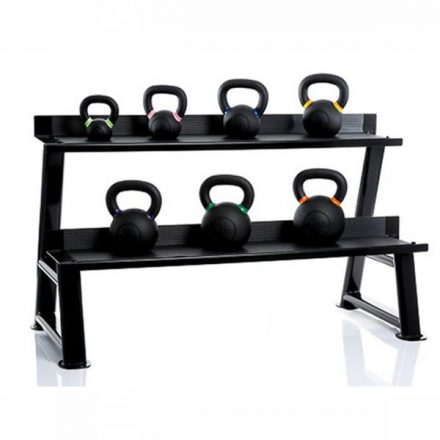 Muscle Power gietijzeren powercoated kettlebell