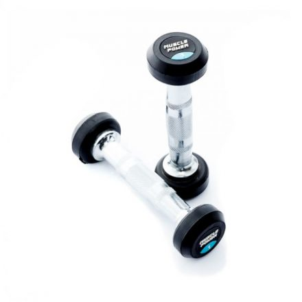 Muscle Power ronde dumbbell set 1 t/m 10 kg