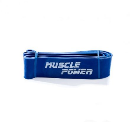 Muscle Power power band blauw (Extra Heavy)