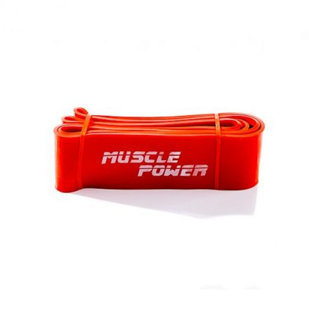 Muscle Power power band oranje (Super Heavy)