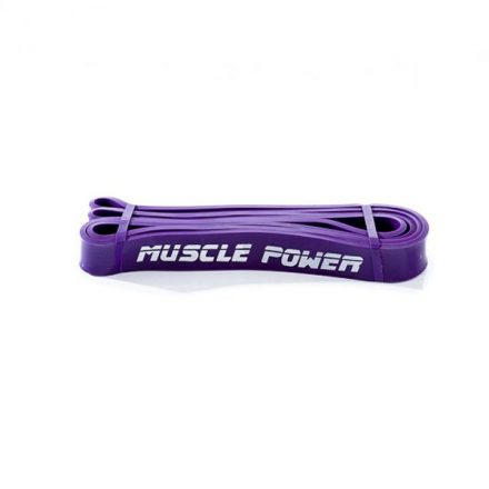 Muscle Power power band paars (Medium)