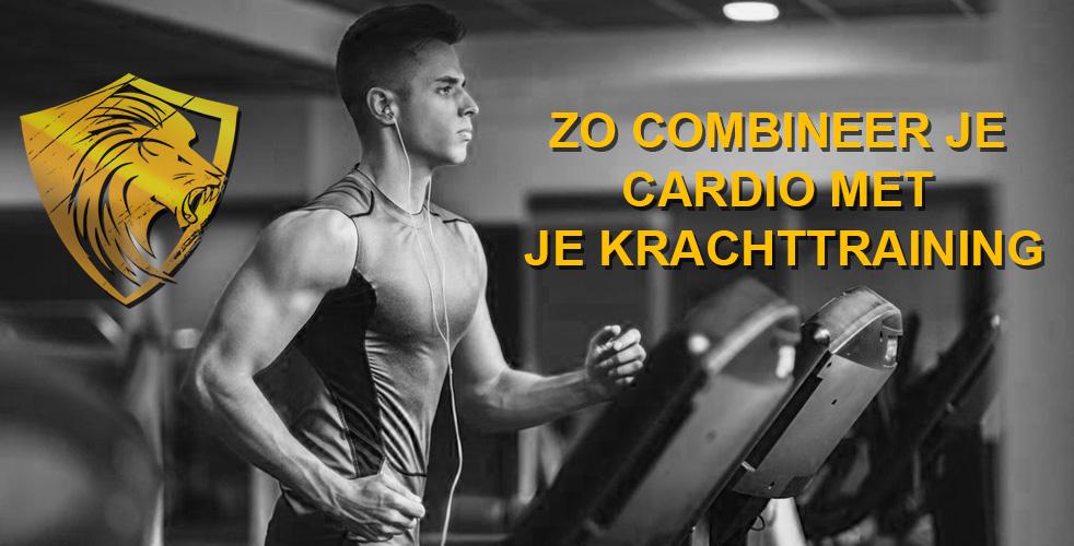 Zo combineer je cardio met je krachttraining