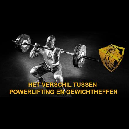 Het verschil tussen powerlifting en gewichtheffen: kracht versus techniek