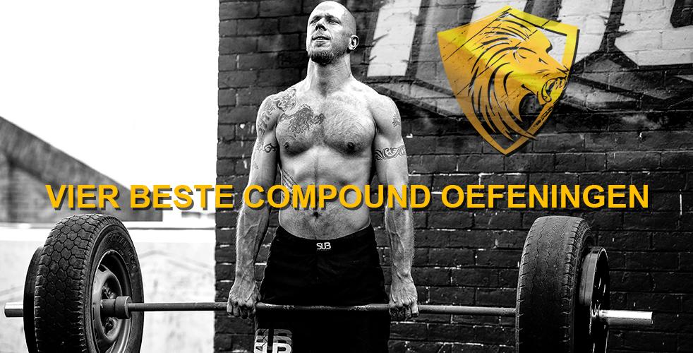 Deze vier compound oefeningen mogen niet in je trainingsschema ontbreken