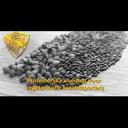 Proteïnerijke voeding voor vegetarische krachtsporters