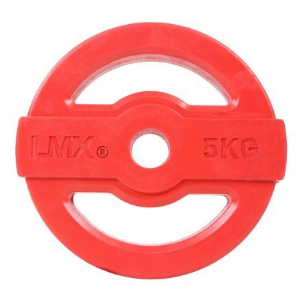 Body pump schijf 30mm 5 kg - rood