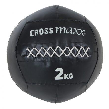 Crossmaxx® PRO wall ball 2 kg -  zwart