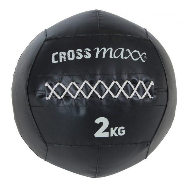 Crossmaxx® PRO wall ball 4 kg -  zwart