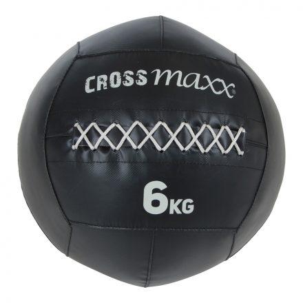 Crossmaxx® PRO wall ball 6 kg -  zwart