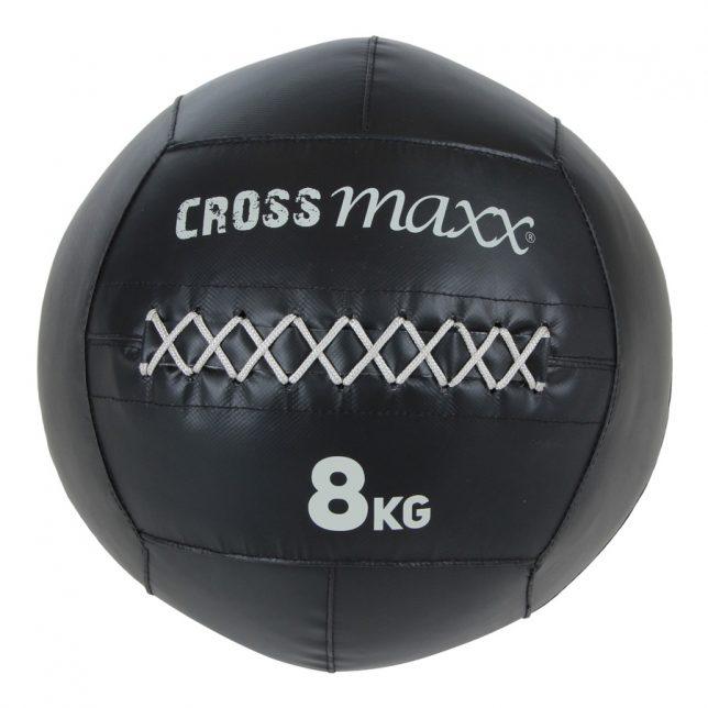 Crossmaxx® PRO wall ball 8 kg -  zwart
