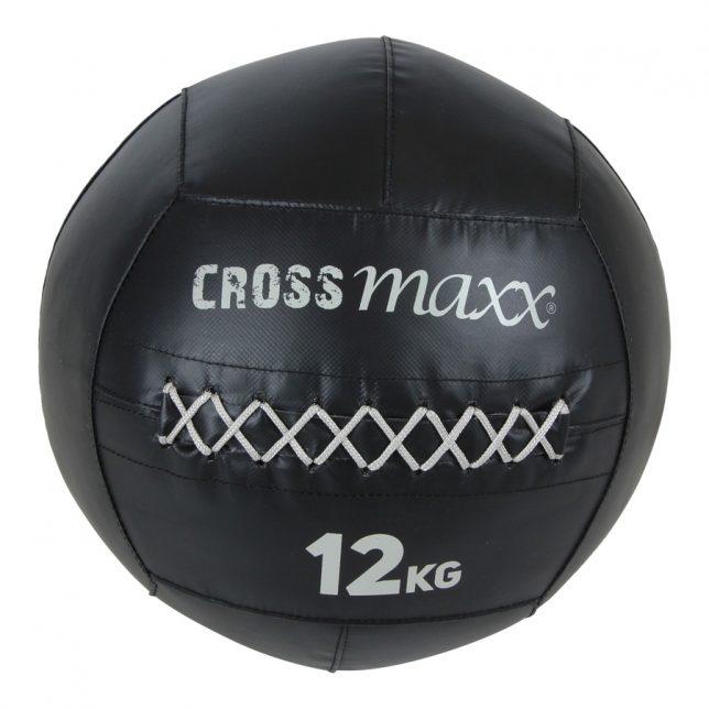 Crossmaxx® PRO wall ball 12 kg -  zwart