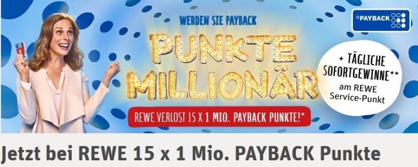 Rewe Payback Punkte Millionar Aktion Im Check Gewinnspiel Test De