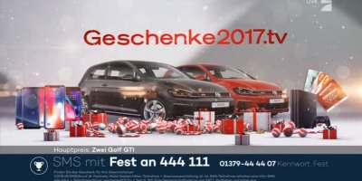 Geschenke2017 Gewinnspiel Prosieben TV-Werbung
