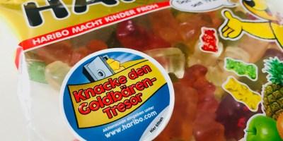 Haribo Aktionspackung Knacke den Goldbären-Tresor