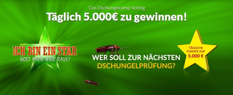 Winario Screenshot Dschungelcamp Voting