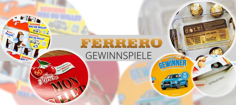Ferrero Gewinnspiele übersicht Gewinnspiel Testde