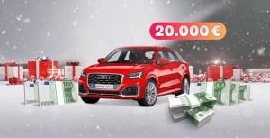 Audi Q2 das große Weihnachtsgewinnspiel