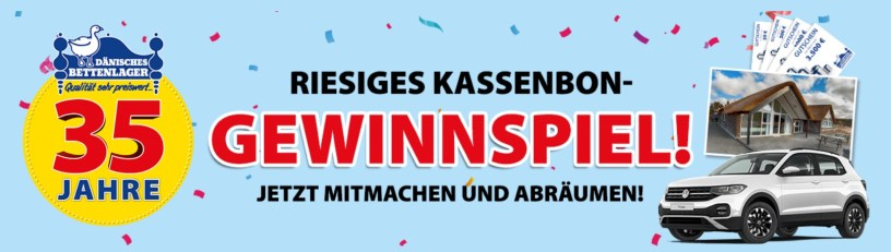 Dänisches Bettenlager 35 Jahre Gewinnspiel