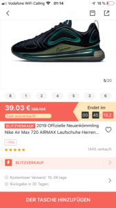 Vova Fake-Markenware Nike Air Max